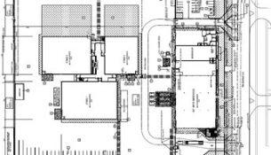 Calgary Film Centre blueprint.