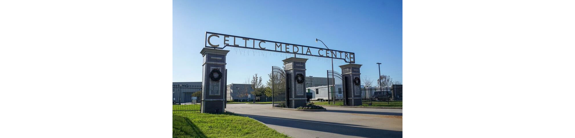 The Celtic Media Centre entrance.