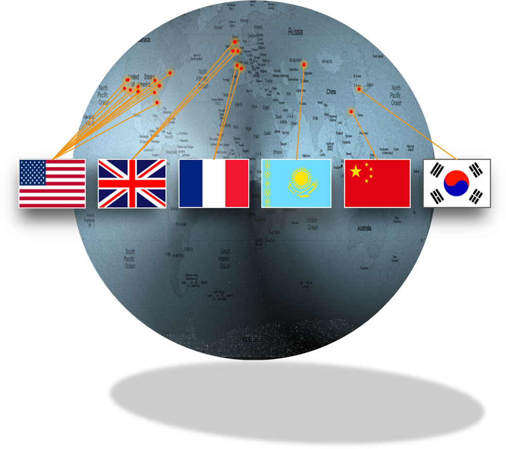 International consulting global locations.