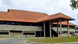 Smaller building on Island Studios.
