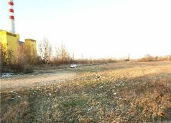 An empty lot.