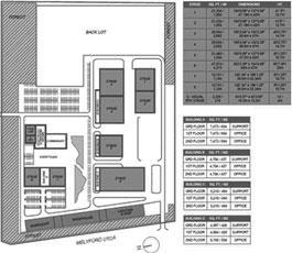 A blueprint for Origo Film Studios.