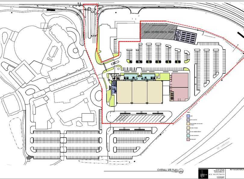 Park City Film Studios blueprint.