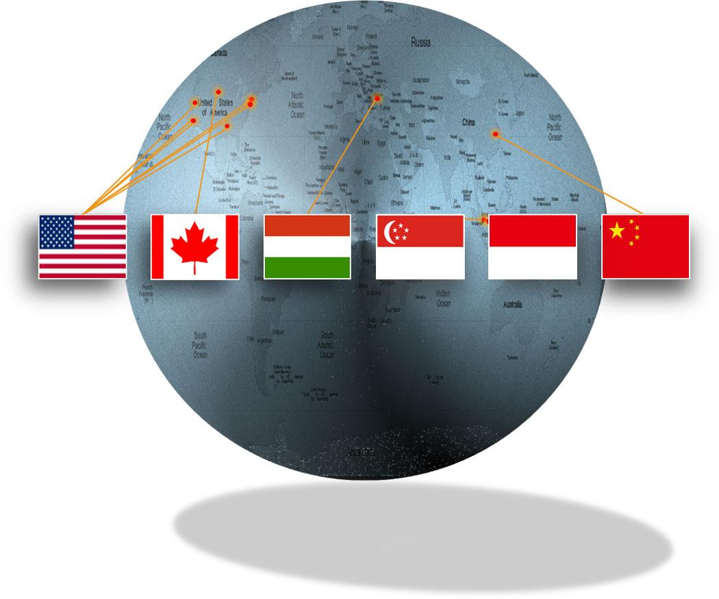 Studio development and operations global locations.